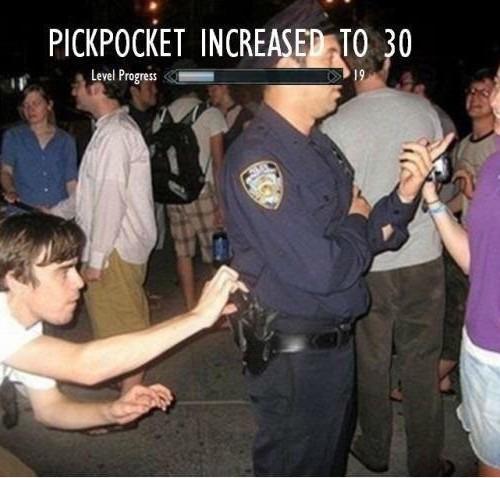 pickpocketing